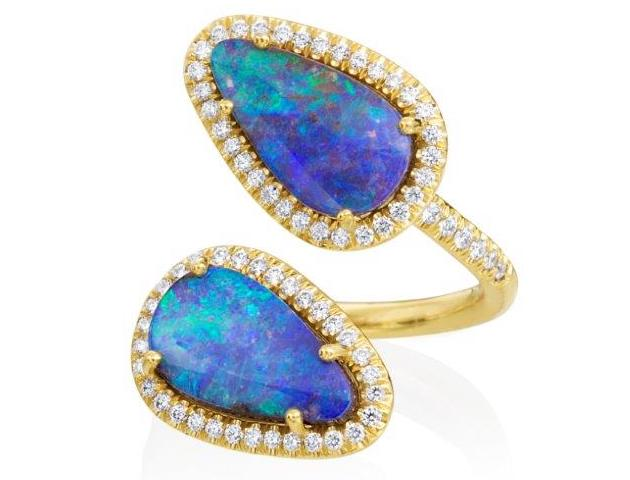 Lauren K opal bypass ring | JCK On Your Market