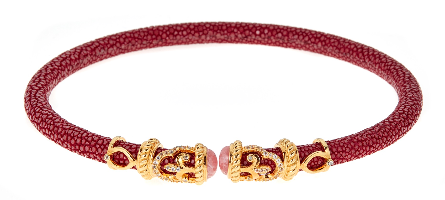 Cristina Sabatini rope scroll choker | JCK On Your Market