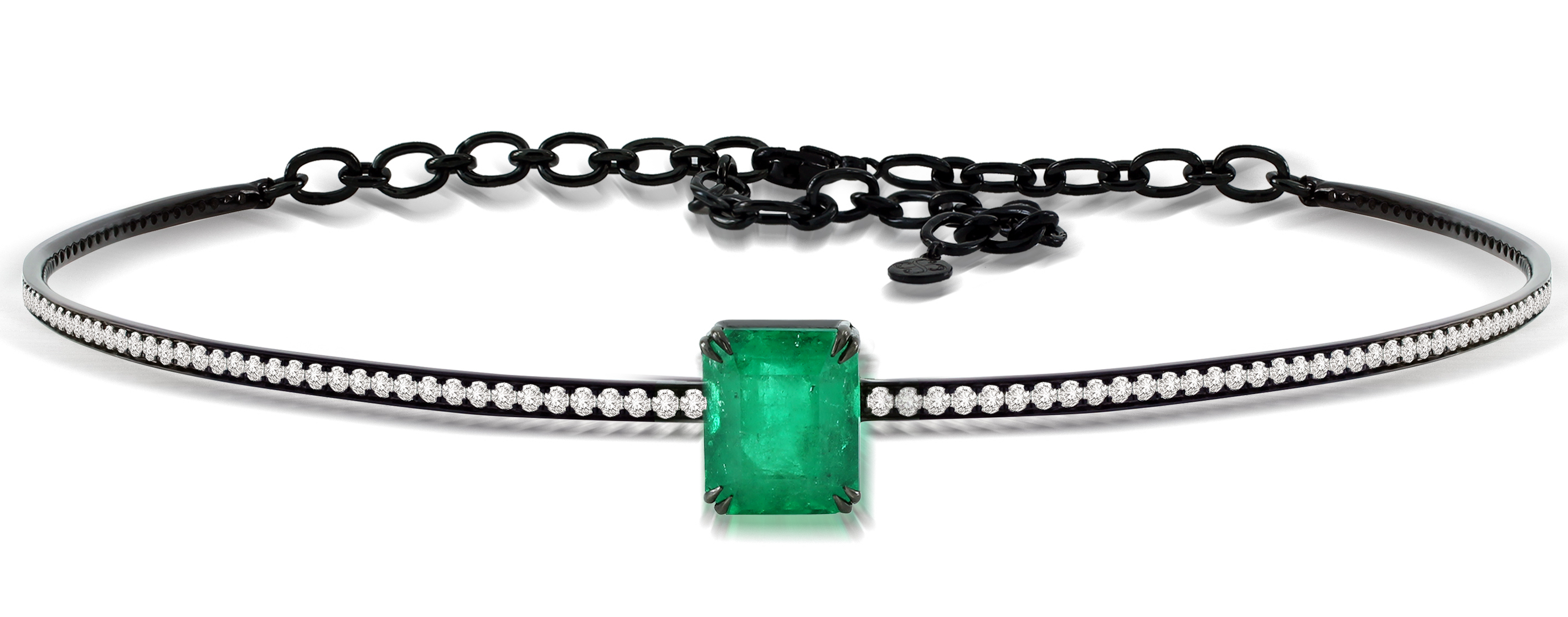 Sutra emerald choker necklace | JCK On Your Market