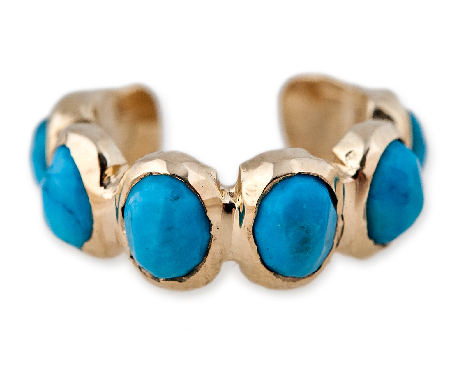 Jacquie Aiche turquoise ear band | JCK On Your Market