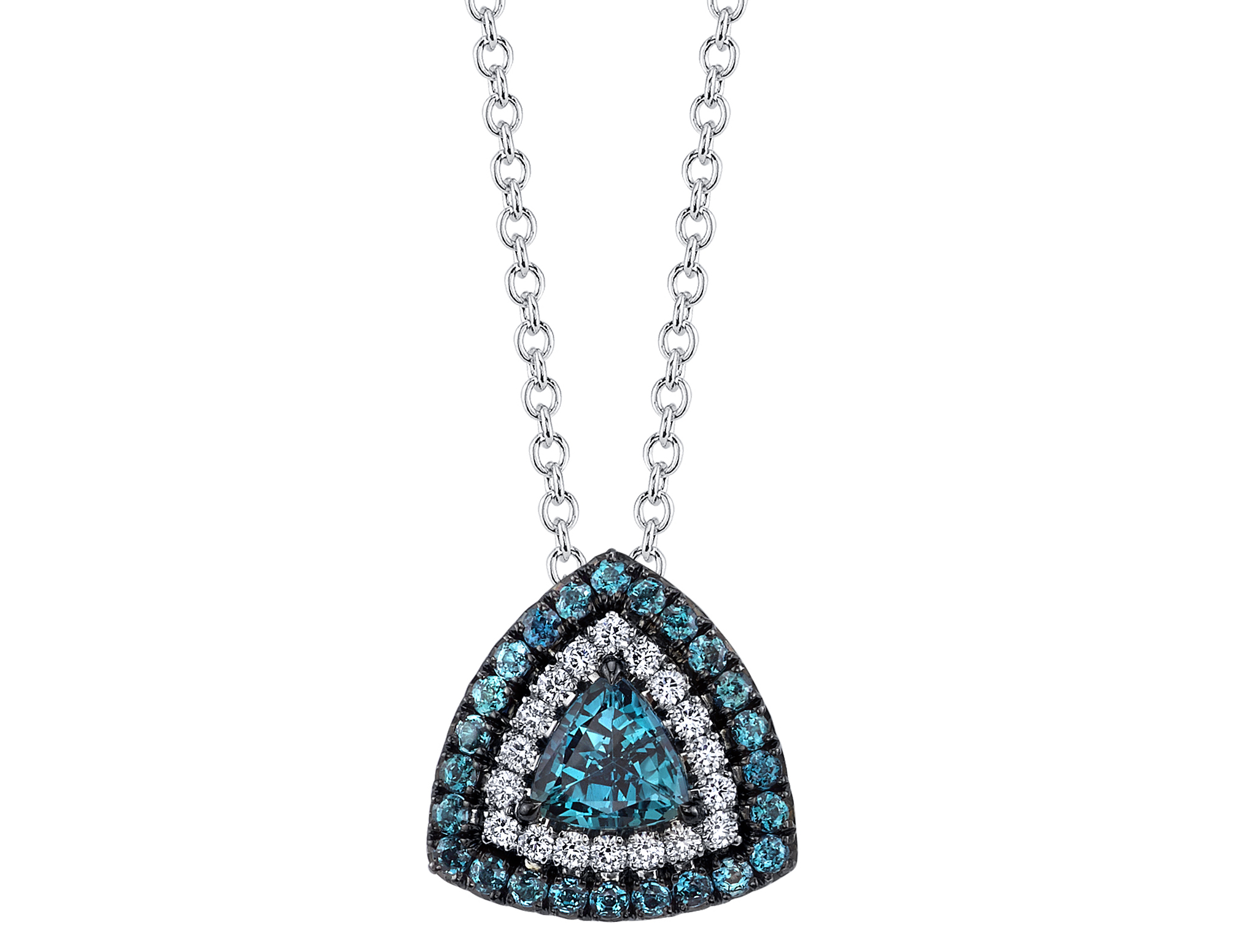 Omi Privé alexandrite Duet pendant | JCK On Your Market