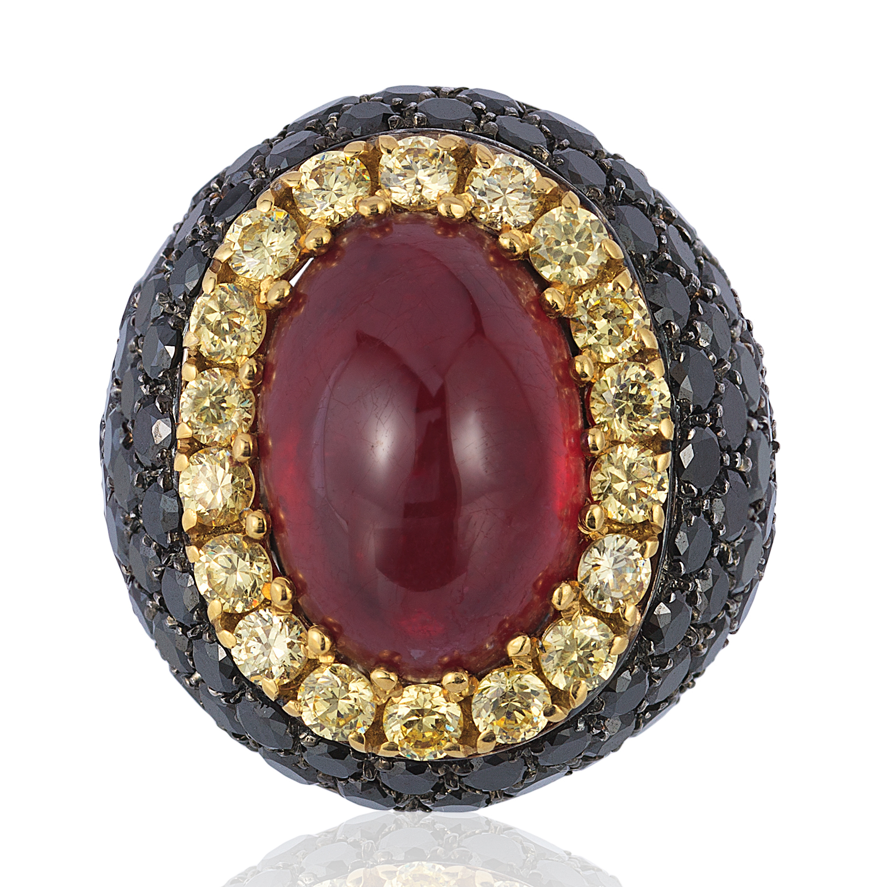 Andreoli ruby and diamond ring | JCK On Your Market