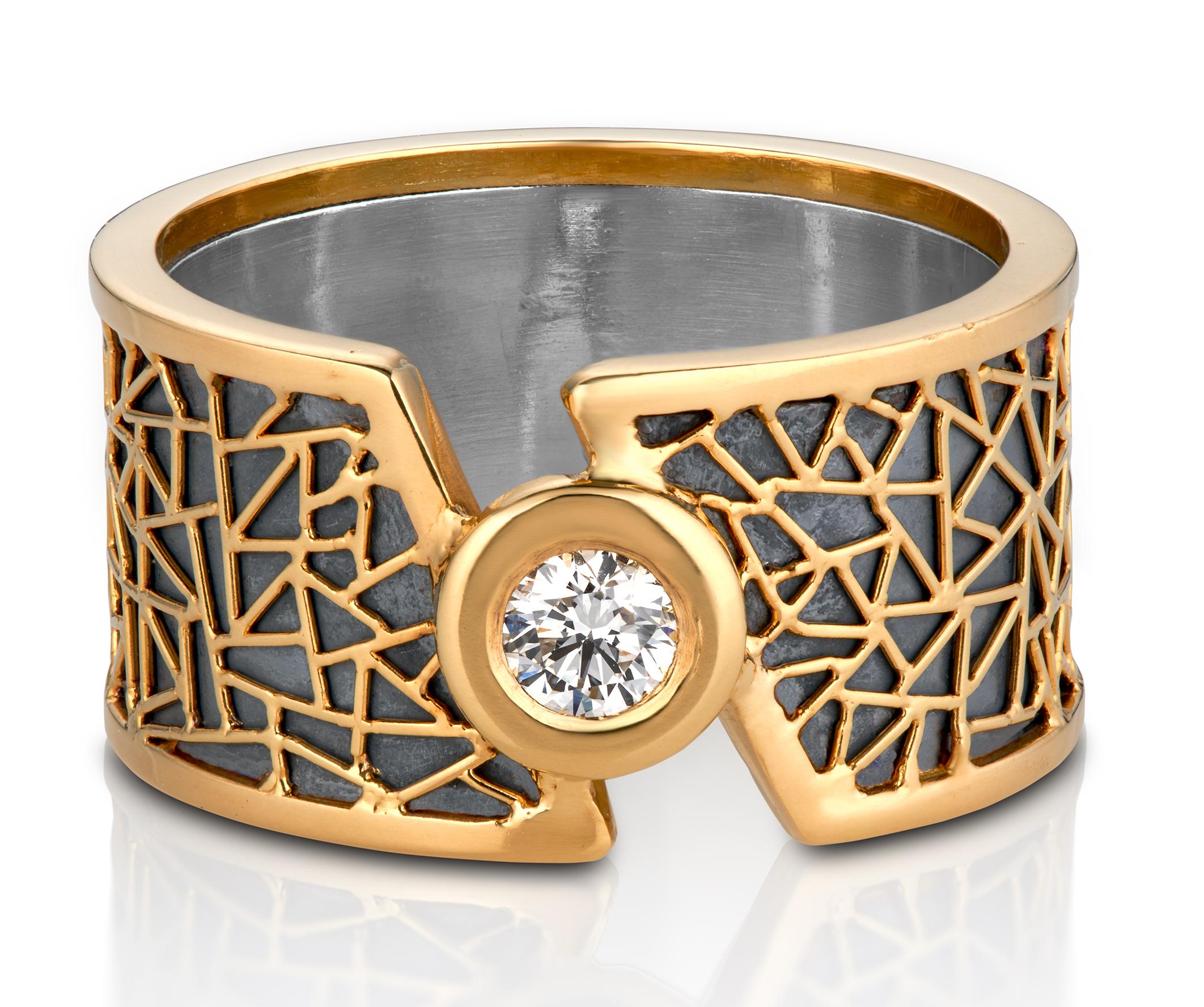 Baiyang Qui diamond ring | JCK On Your Market