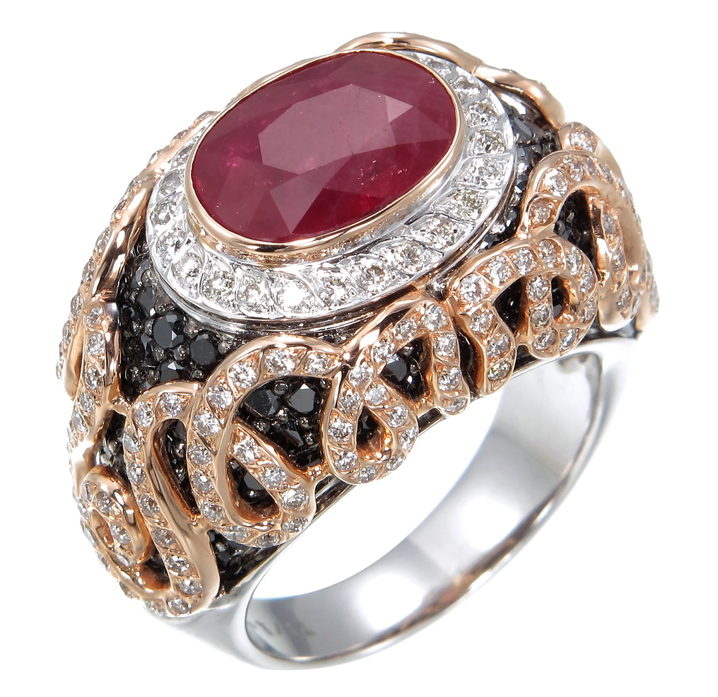 Zorab Atelier ruby ring | JCK On Your Market