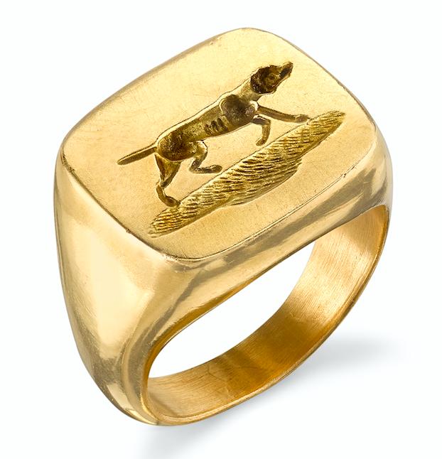 Anabel Higgins Hunter ring | JCK On Your Market