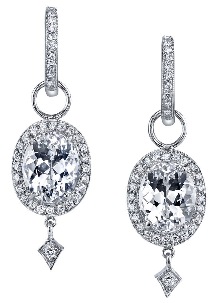 Eva earrings diamonds