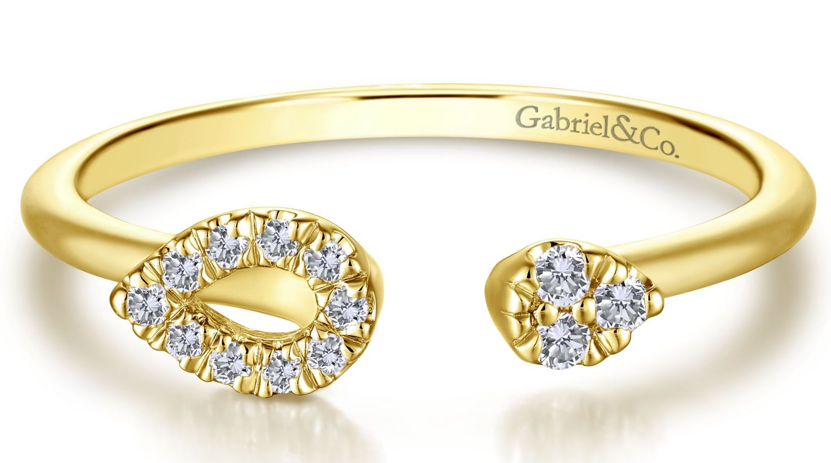 Gabriel and Co. gold stacking ring | JCK On Your Market