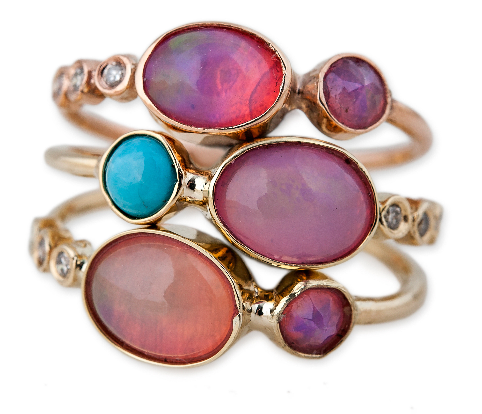 Jacquie Aiche stacking rings | JCK On Your Market