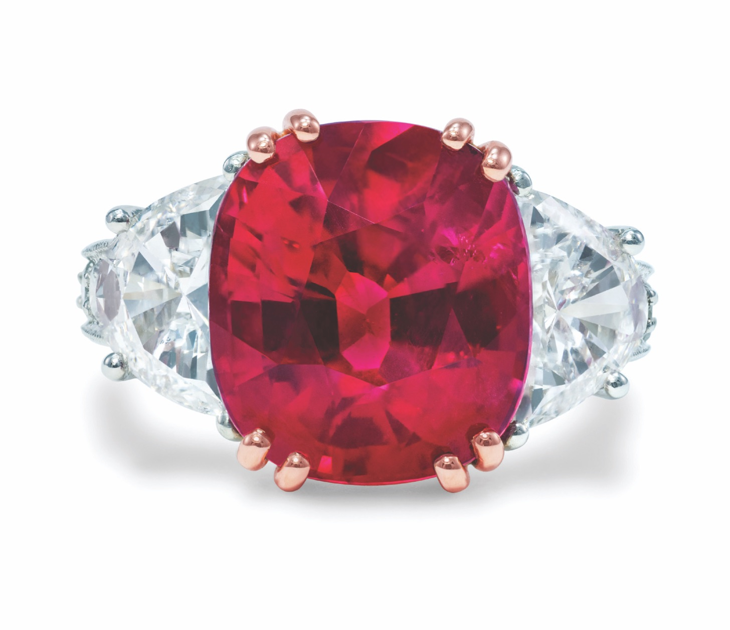 John Buechner ruby and diamond ring | JCK On Your Market