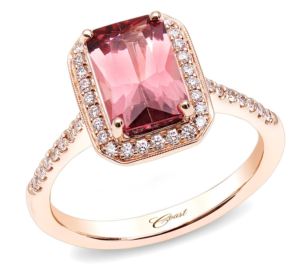 Coast Diamond pink tourmaline ring | JCK On Your Market