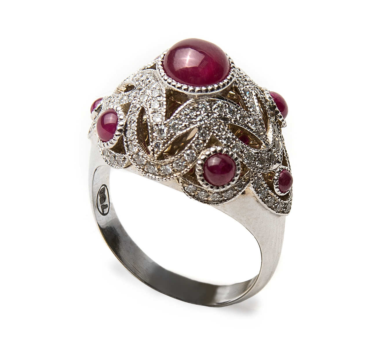 Lord Jewelry ruby dome ring | JCK On Your Market