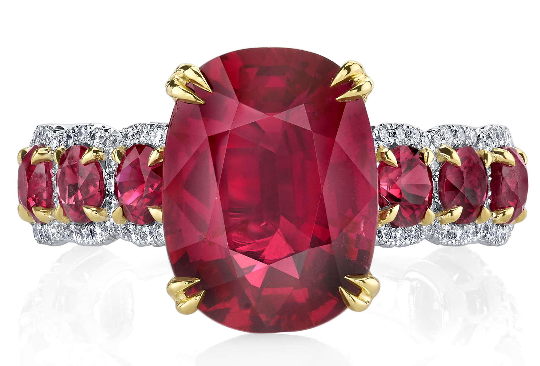 of ring bijoux diamond jewelry in gemstone passion and sonal style ravishing how floral to from ruby sonals s