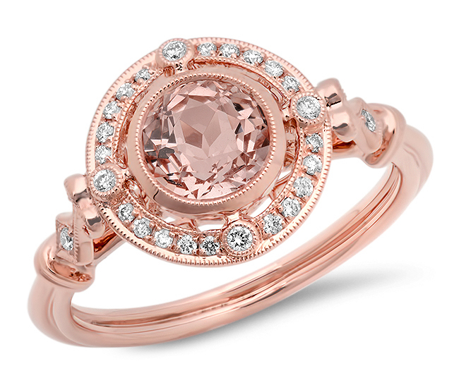 Beverley K morganite engagement ring | JCK On Your Market