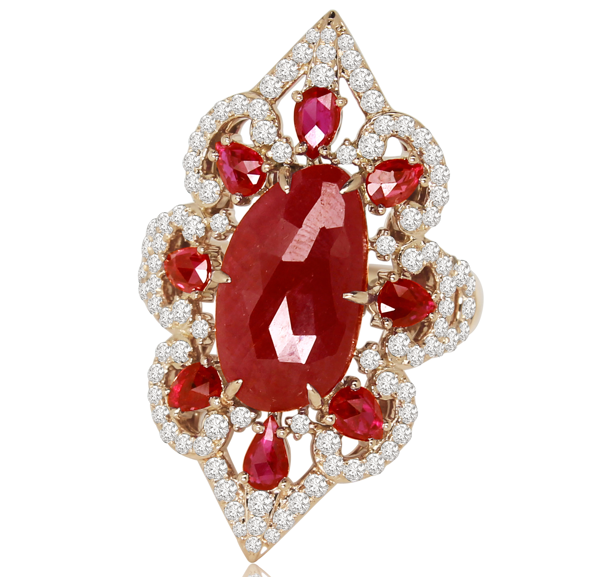 Sutra ruby slice ring | JCK On Your Market