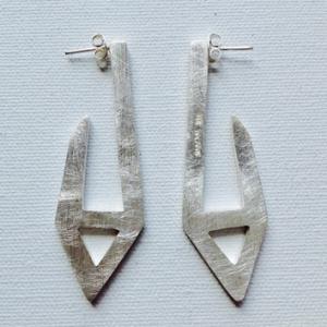 Balaam silver earrings