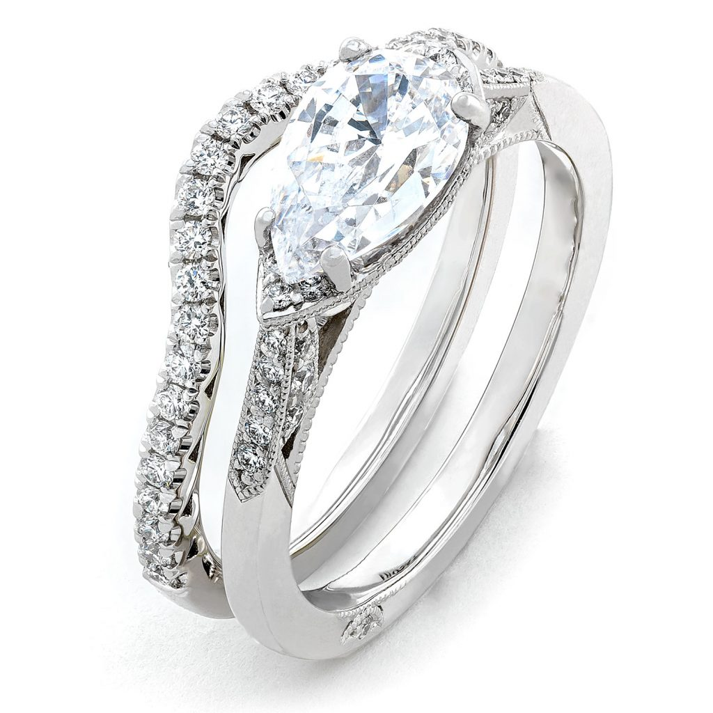 Simply Tacori engagement ring