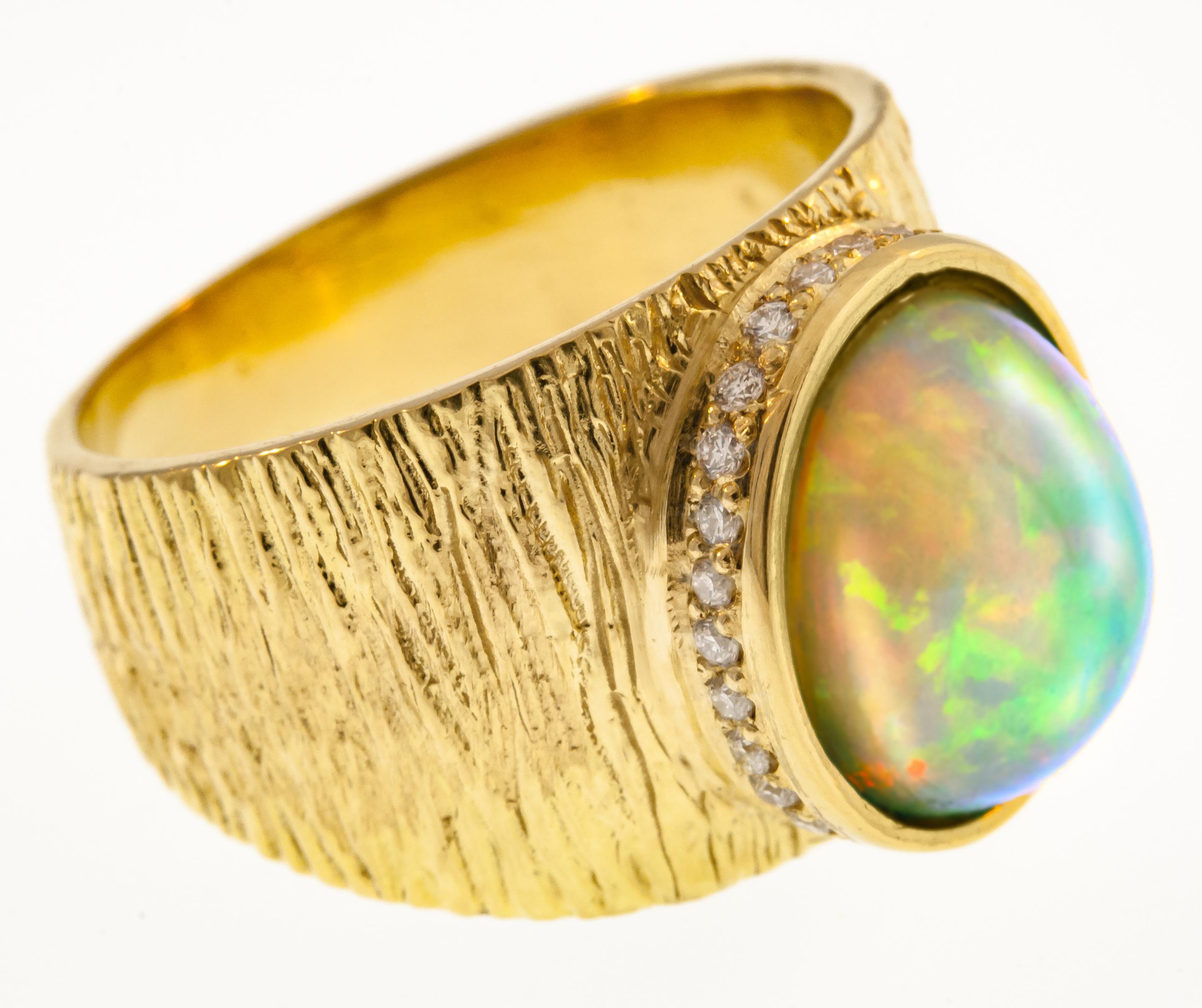 Kaali Designs opal Maya ring | JCK On Your Market