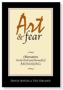 Book cover Art and Fear