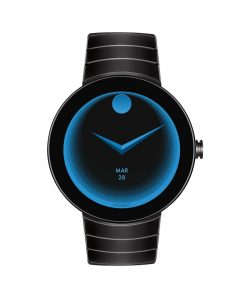 Movado Connect style including several sensors