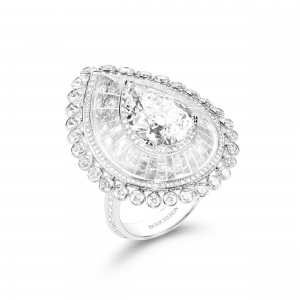 Dime Graphique diamond ring from the L'Anneau d'Or line