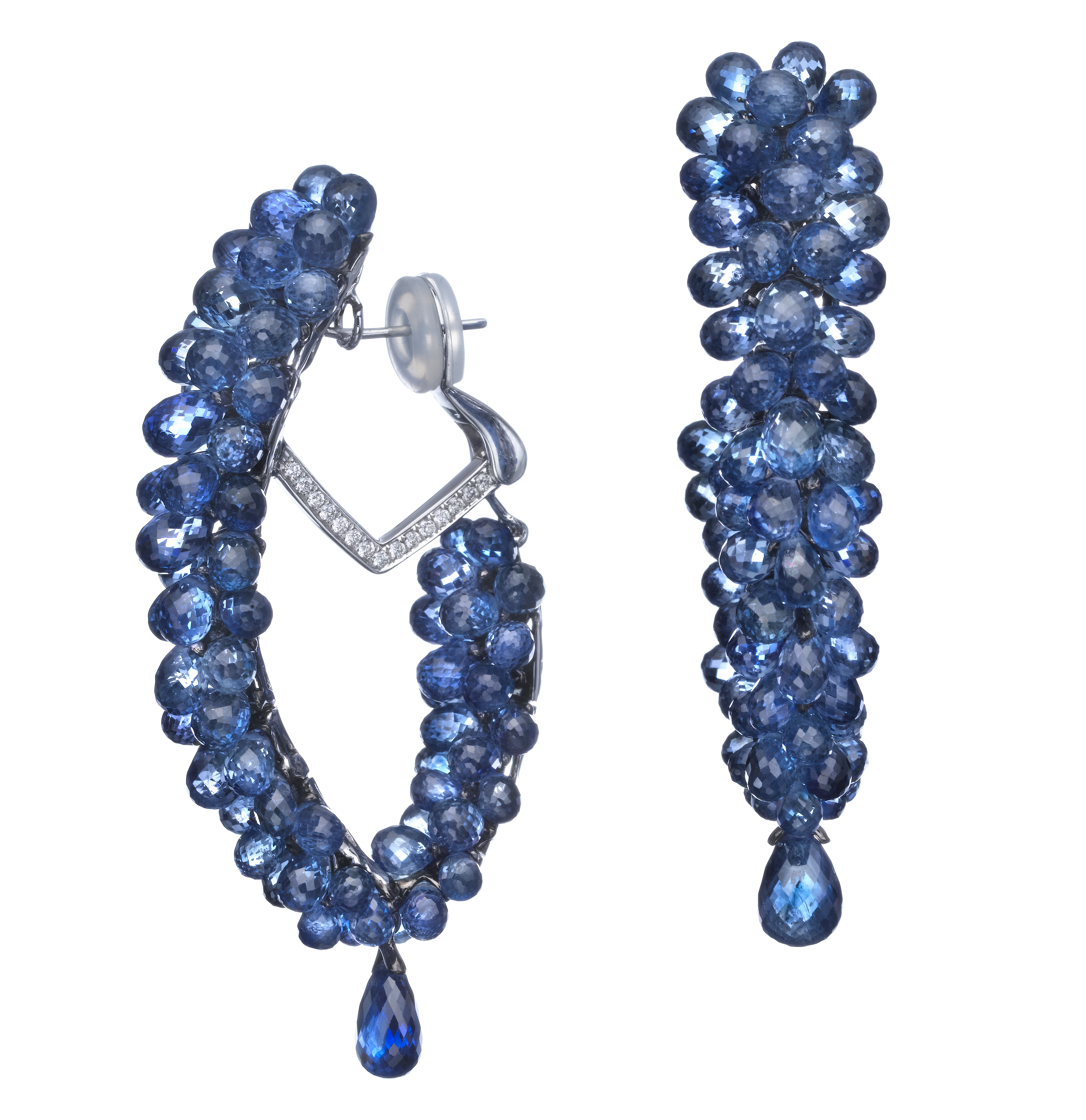 Butani sapphire earrings