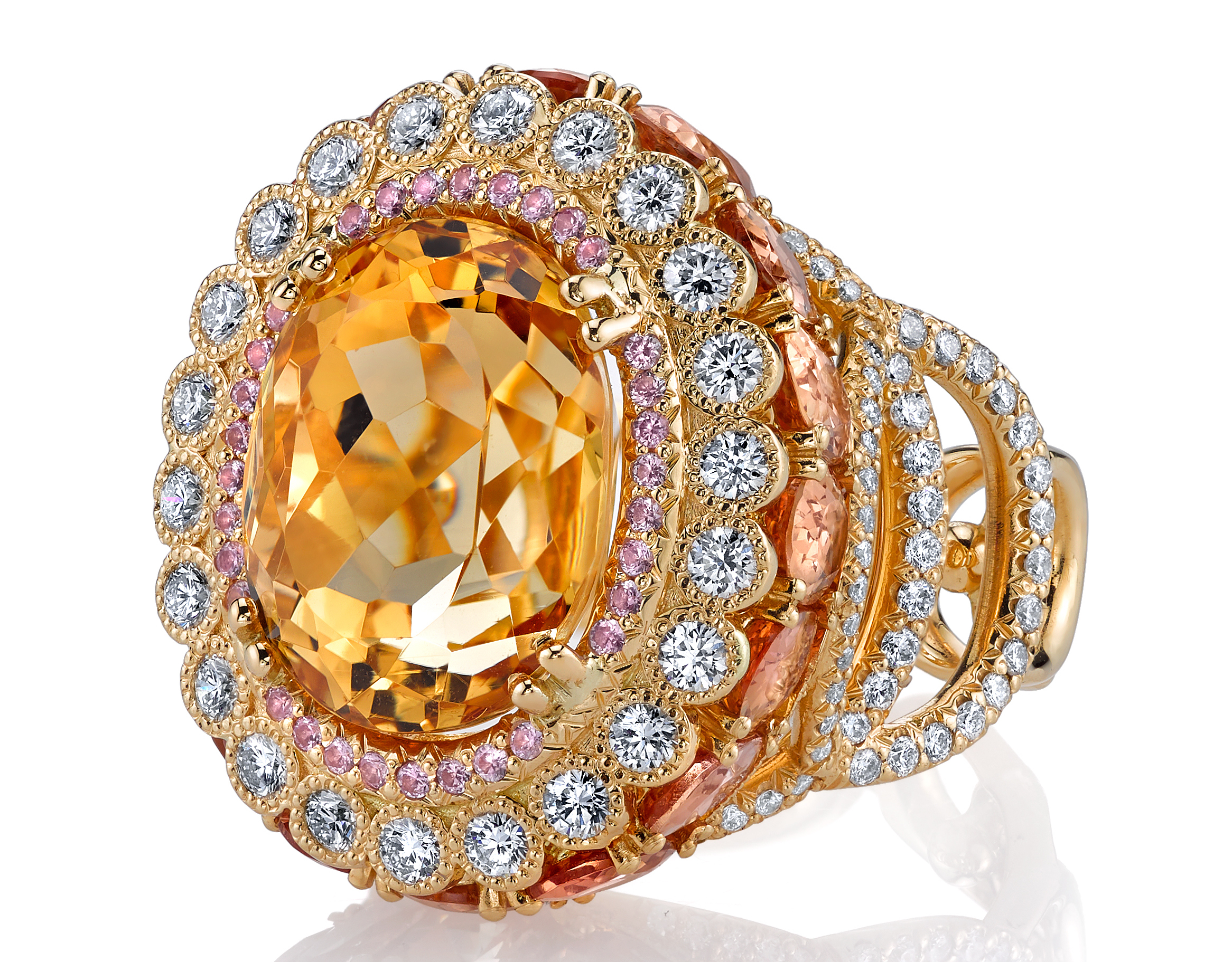 Erica Courtney Easter Egg ring in Topaz | JCK On Your Market
