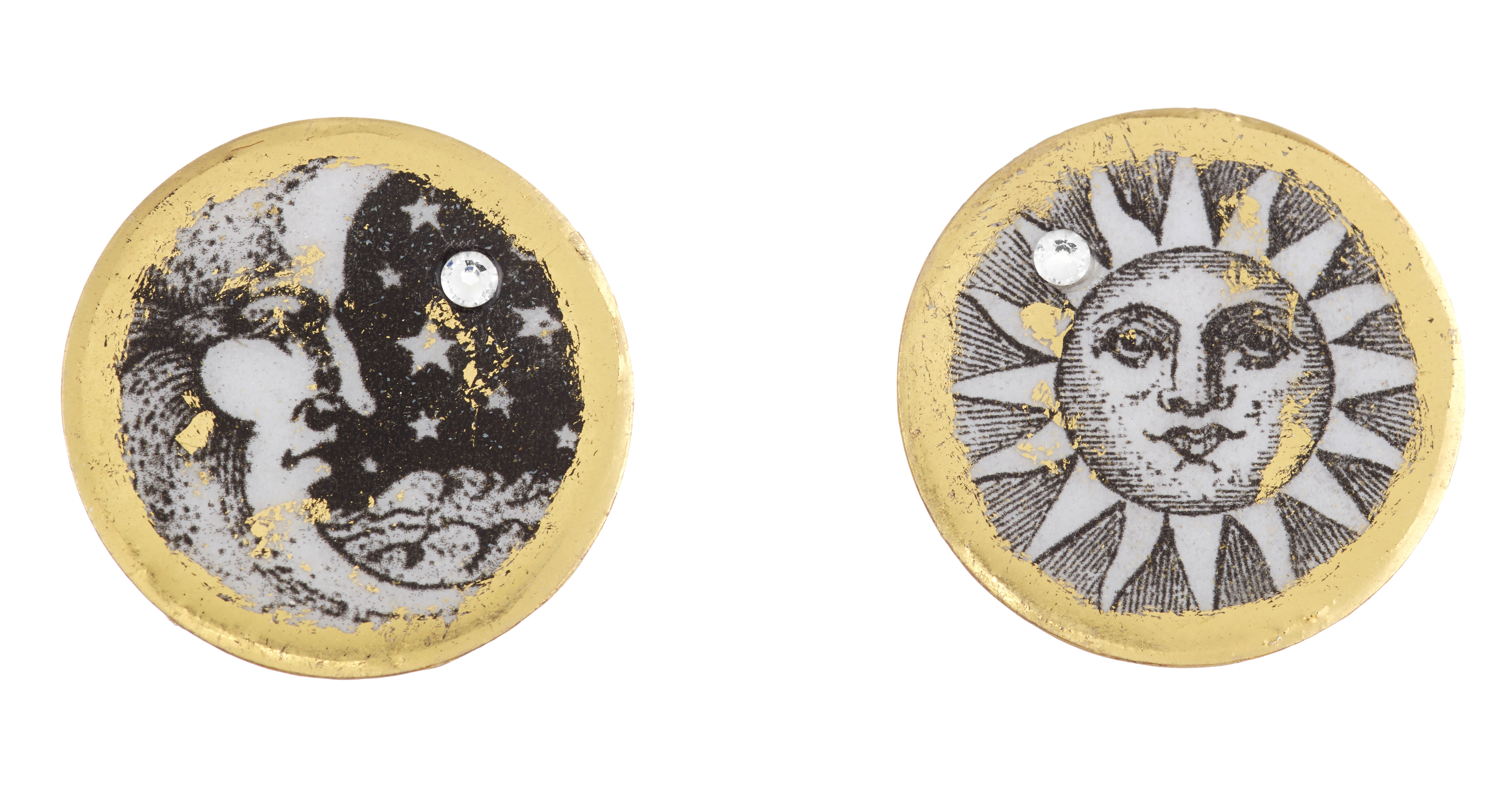 Evocateur Sun Moon and Stars earrings | JCK On Your Market