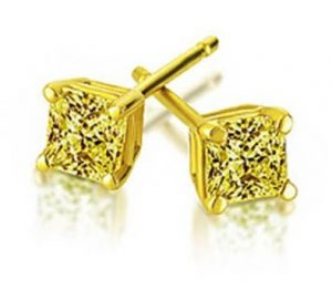 Harry Kotlar canary diamond earrings