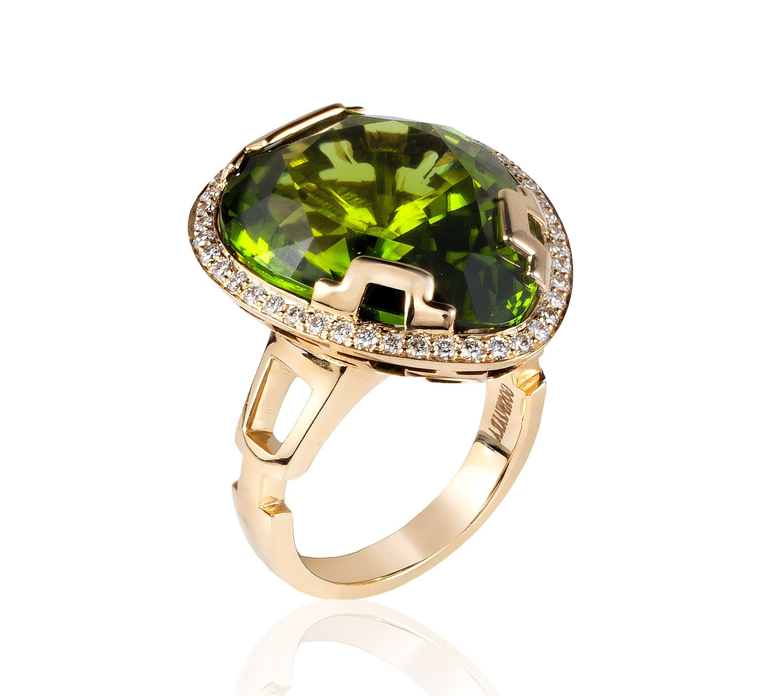 Goshwara G-One peridot ring | JCK On Your Market