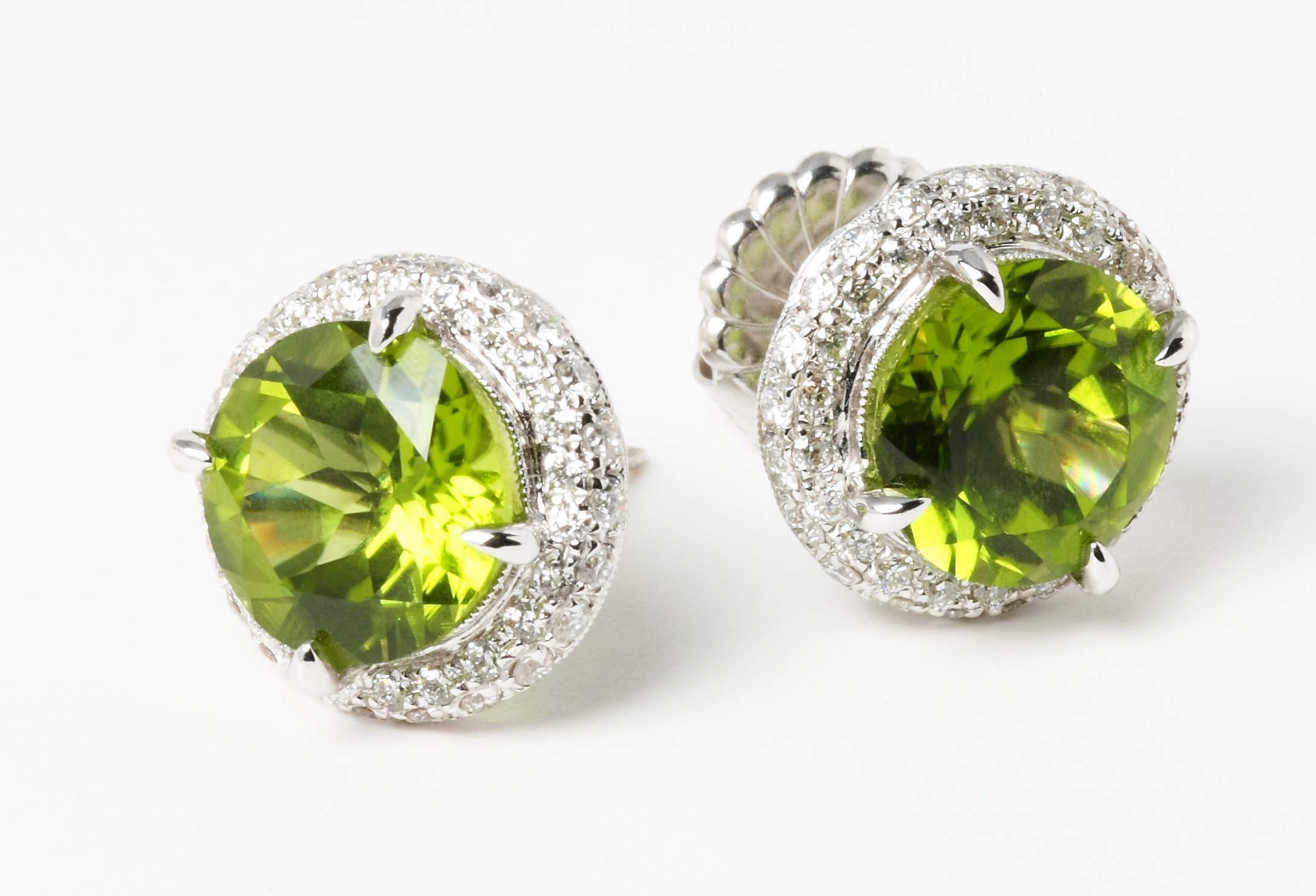 Rina Limor peridot earrings | JCK On Your Market