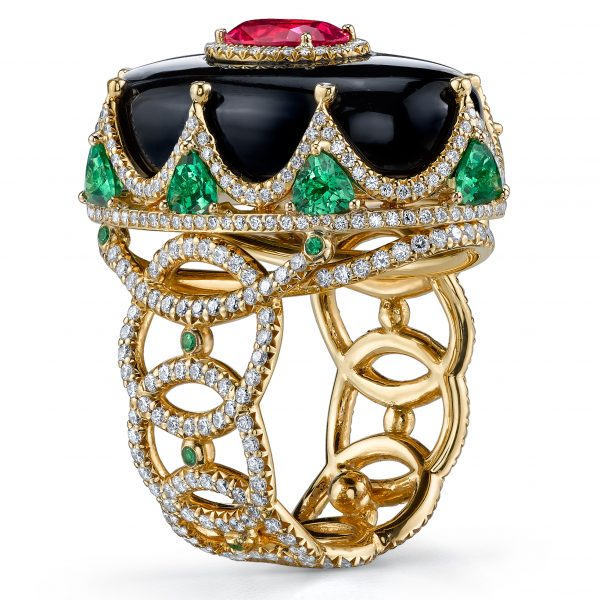 Drop Dead Gorgeous Is The Name Of Gemstone Collection From Jewelry Designer Erica Courtney And There Isn T A Better For Statement Pieces