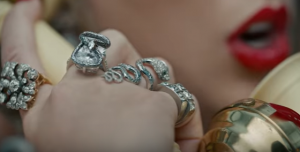 Taylor Swift ring in Look What You Made Me Do video