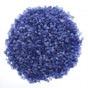 Cornflower blue Yogo sapphires