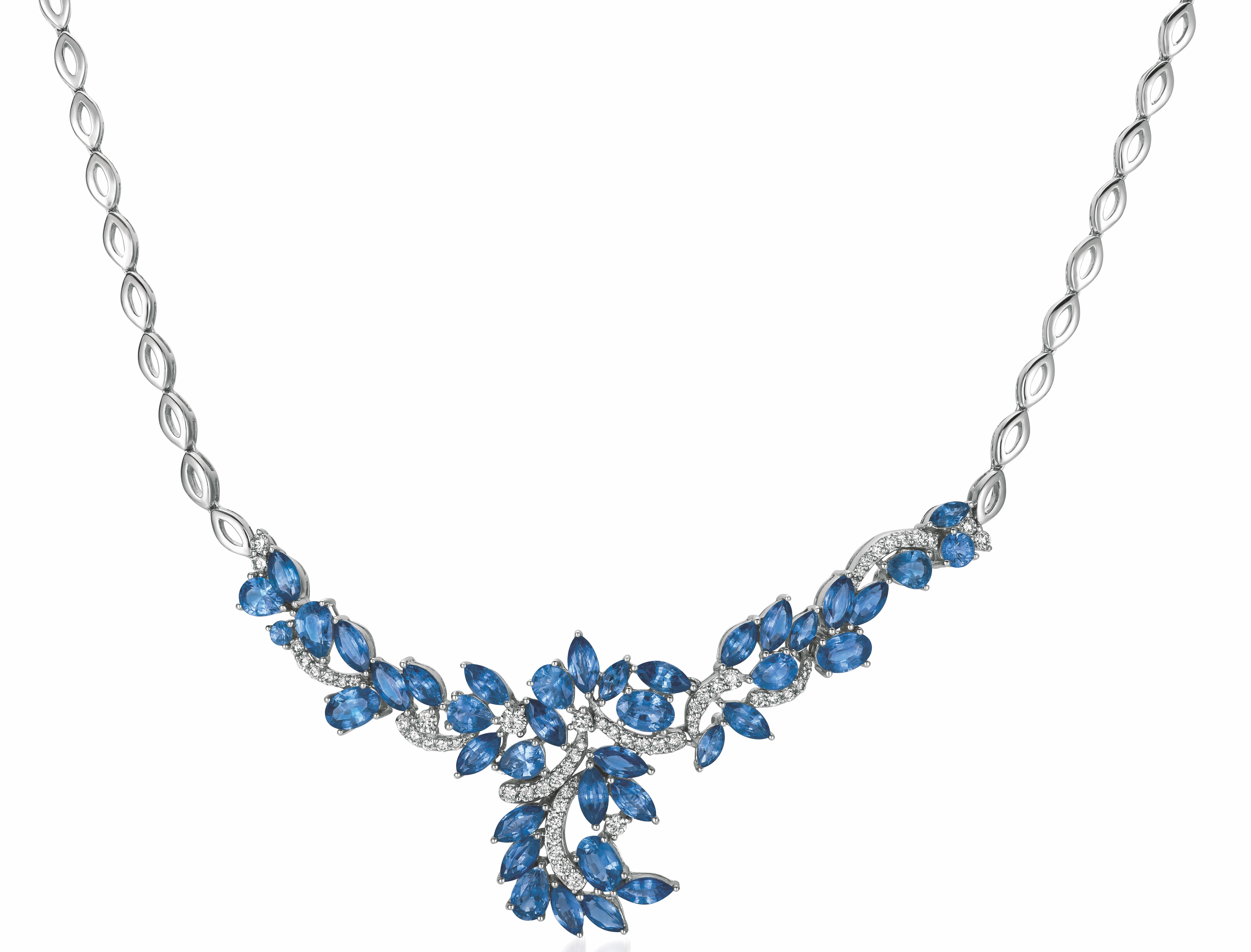Le Vian sapphire necklace