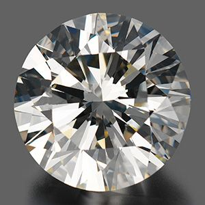 Large single diamond seen from top
