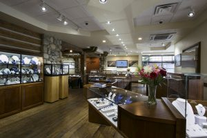 Gem gallery store interior