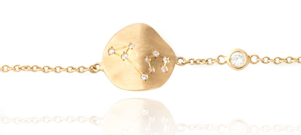 Nostalzia Constellation bracelet gold
