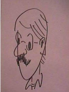 Bill Shuster self-caricature