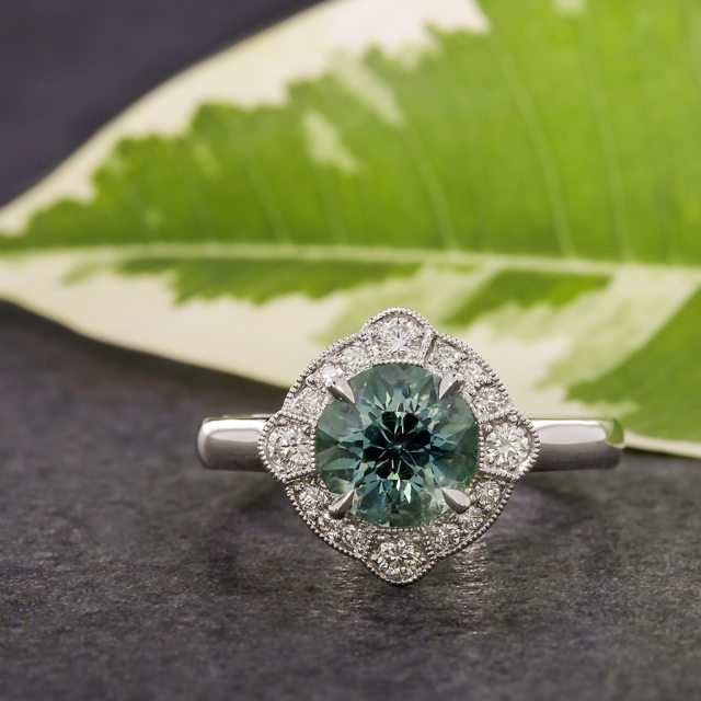 Greenlakejewelry engagement ring insta
