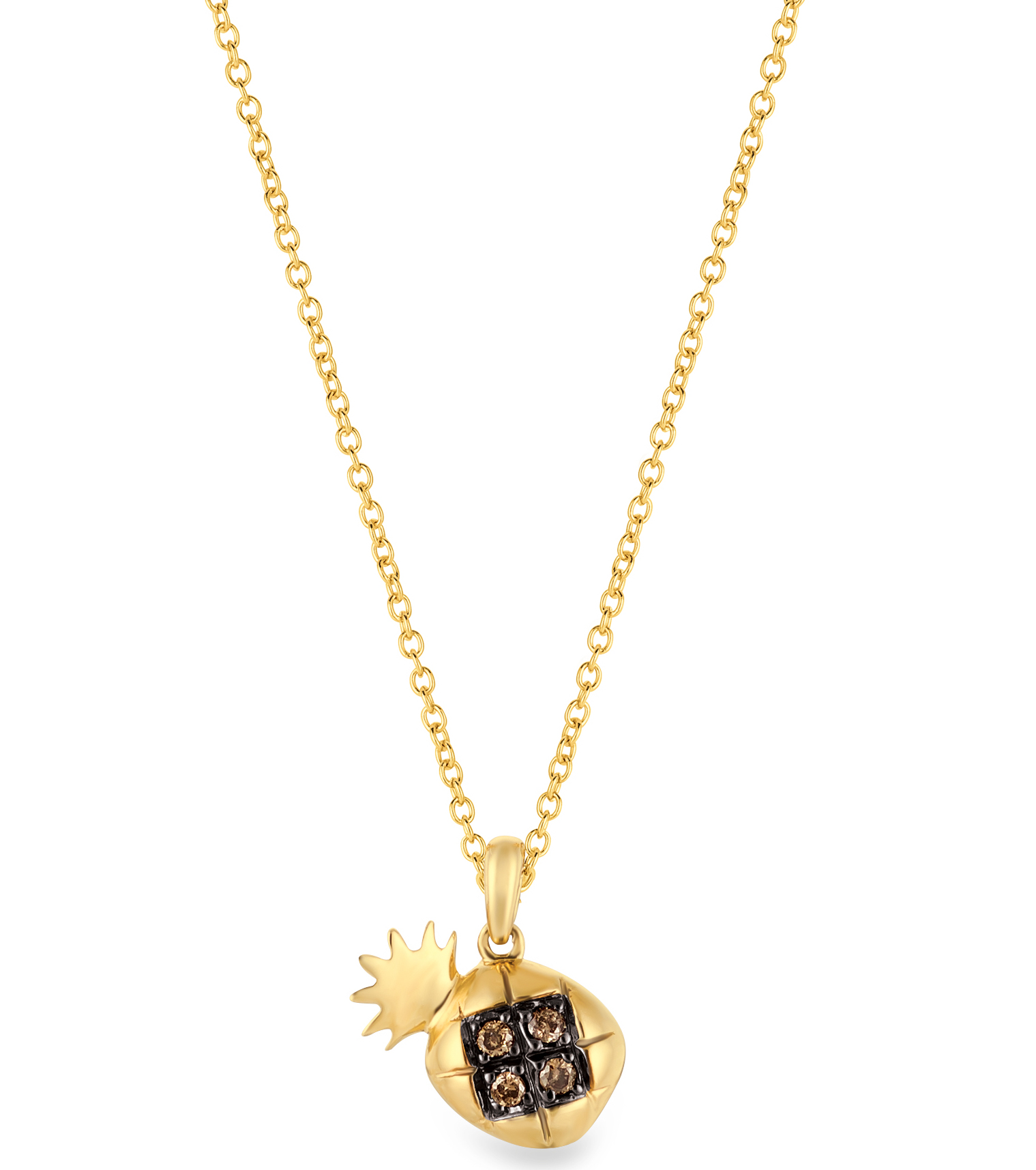 Le Vian pineapple pendant
