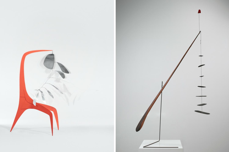 Calder works at Whitney
