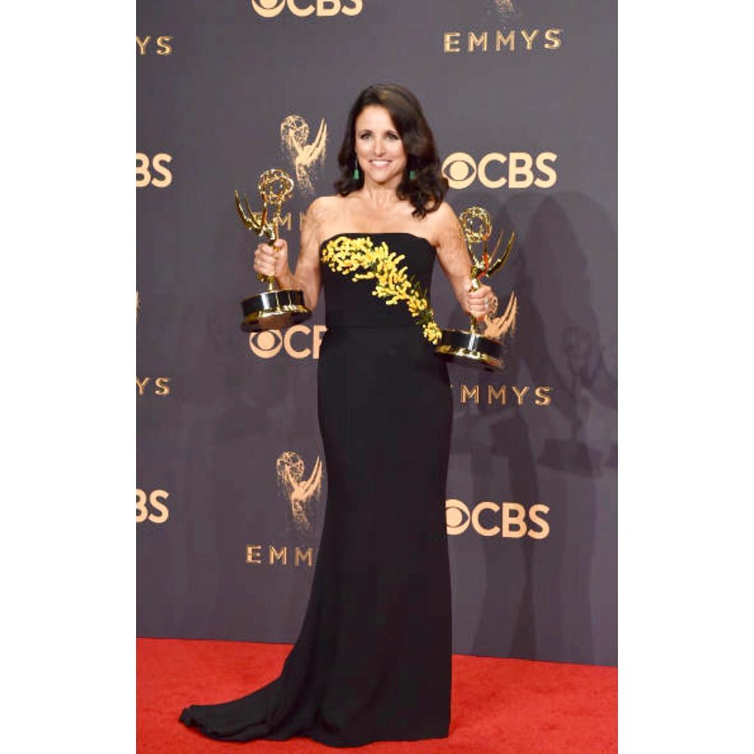 Julia Louis Dreyfus at Emmys