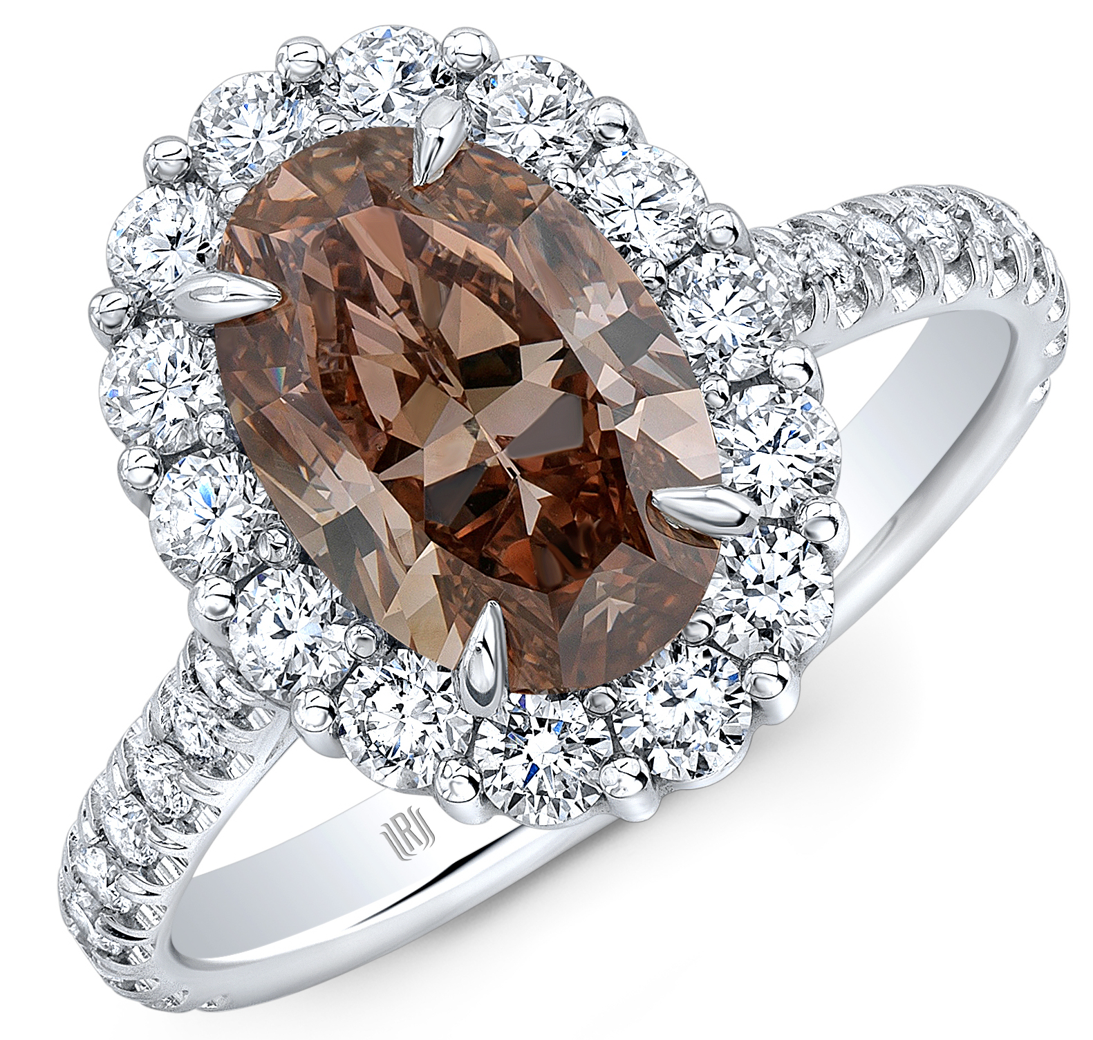 Rahaminov brown diamond ring