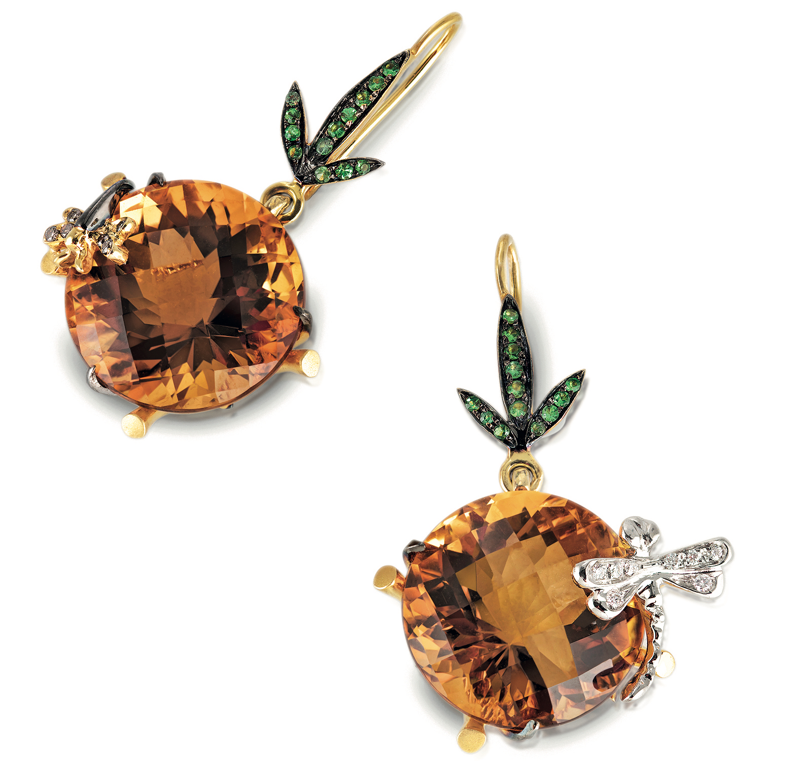 Roberto Coin Garden collection earrings