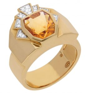 Ring from King line of Gringoire Joaillier GEM collection