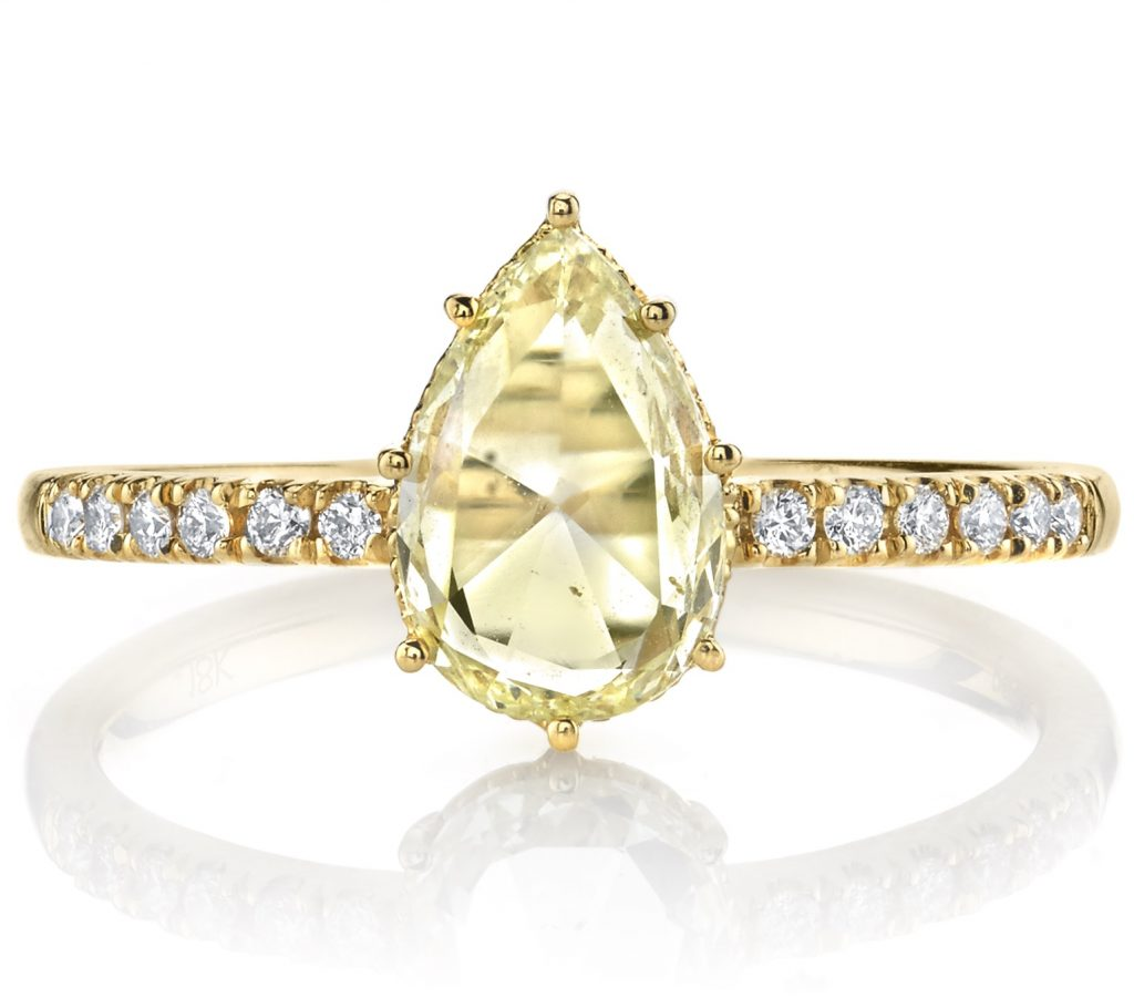 Lumiere bridal collection ring