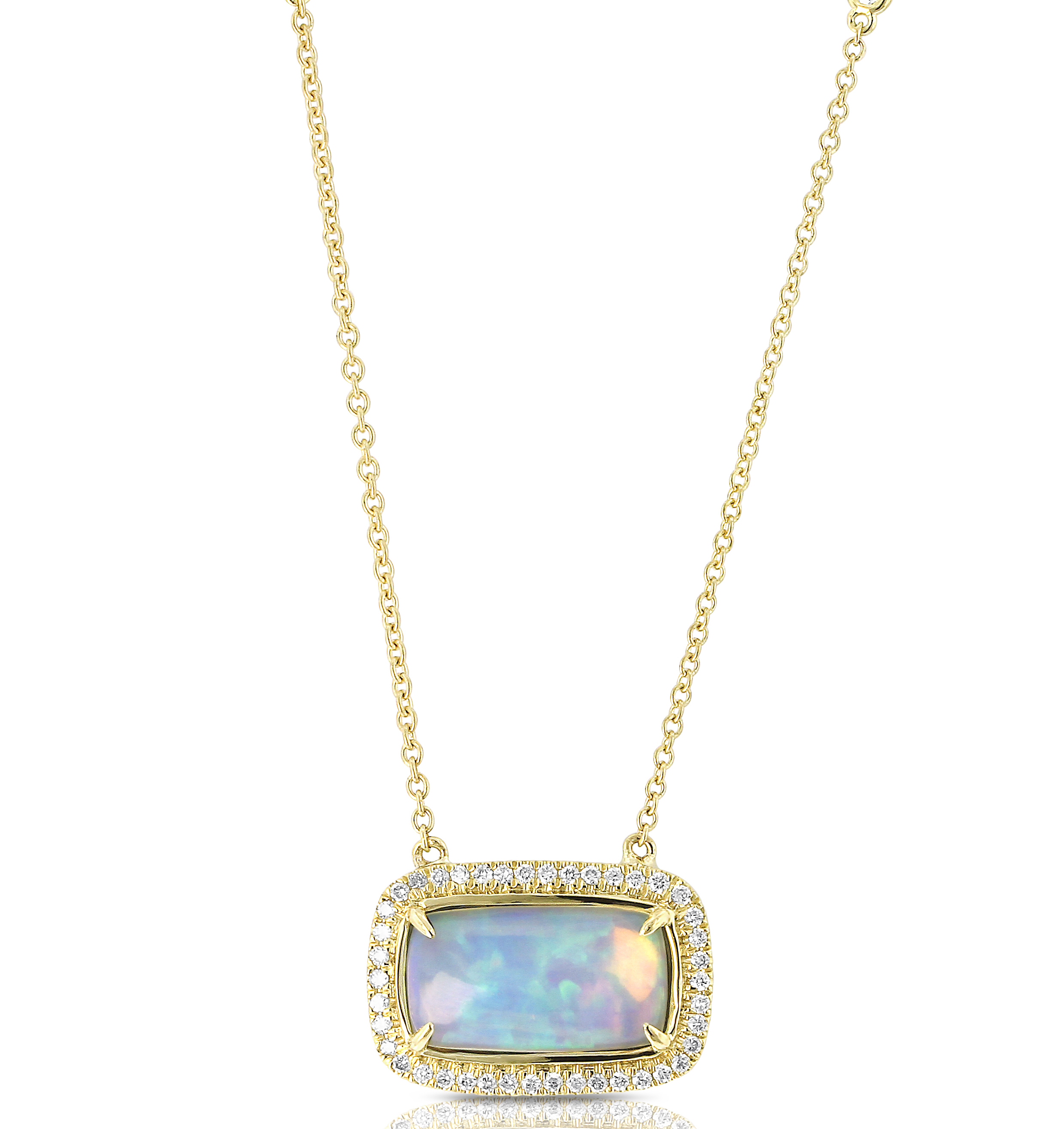 Yael Designs opal pendant | JCK On Your Market