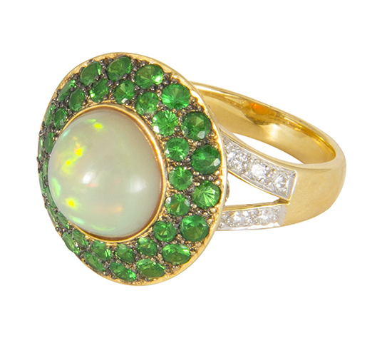 M. Spalten opal Spaceship ring | JCK On Your Market