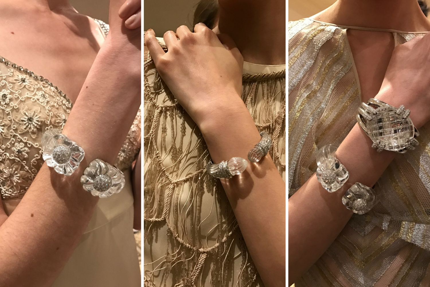 David Webb jewels neutral bracelets