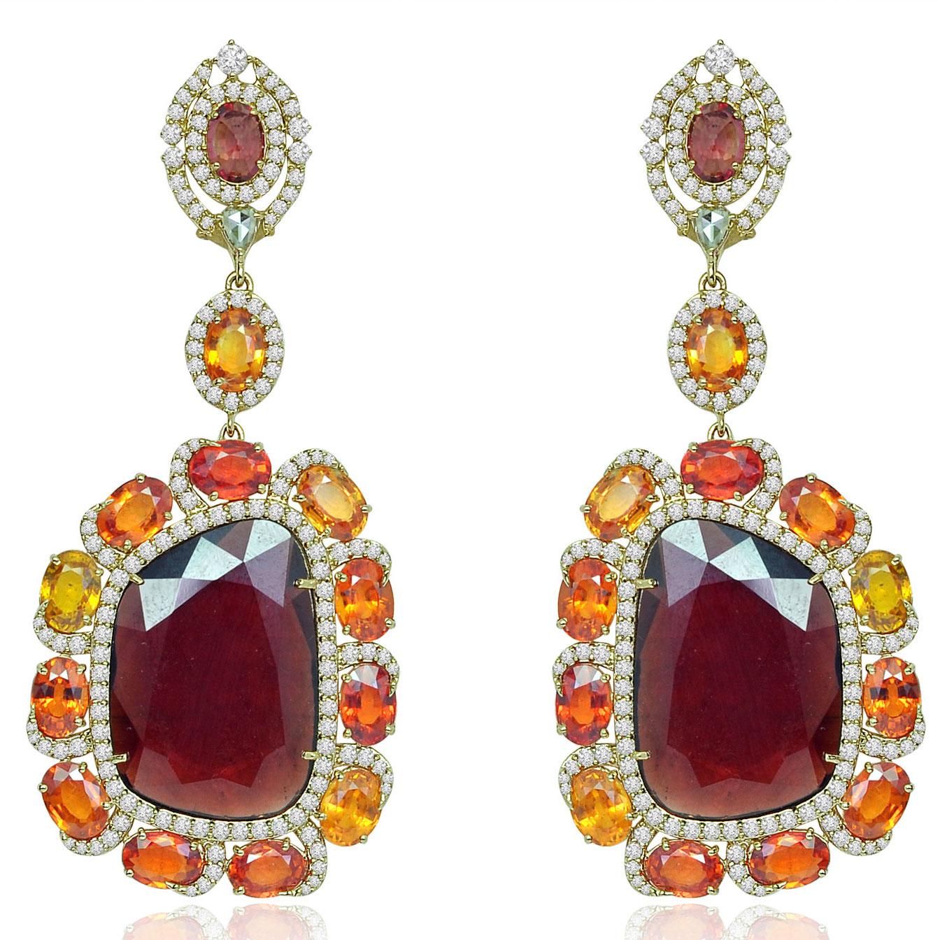 Sutra earrings
